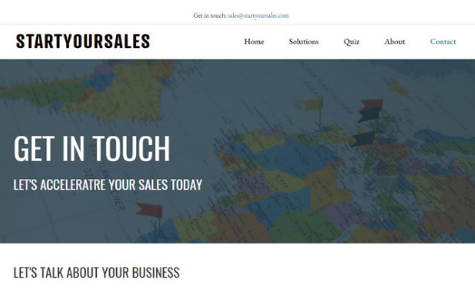 Barrk Marketing website portfolio