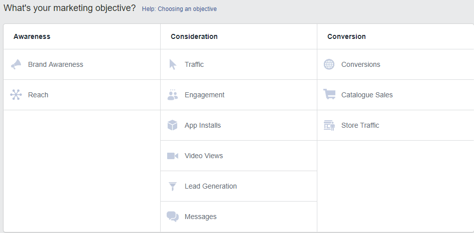 How to Create a Facebook Lead Generation Campaign - objective