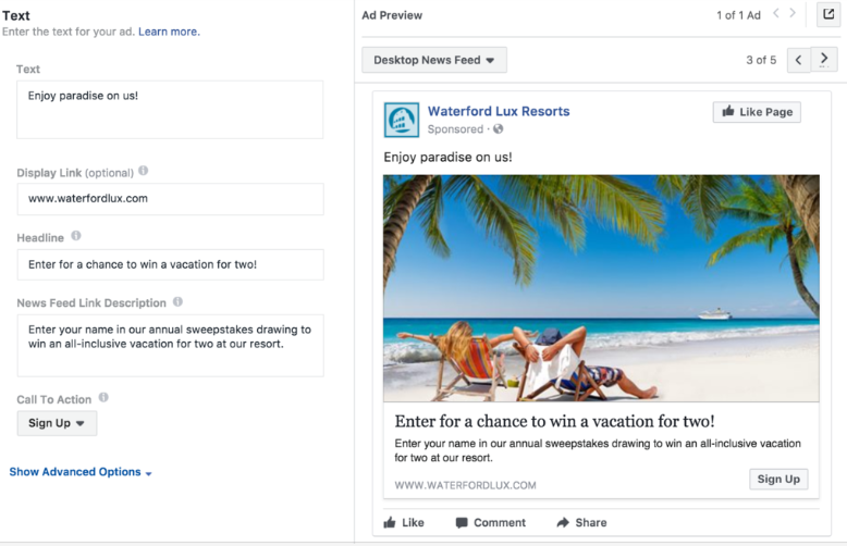 How to Create a Facebook Lead Generation Campaign - create ad