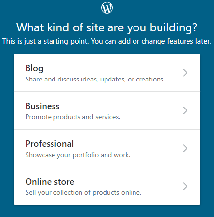 How to Start a Blog - selection